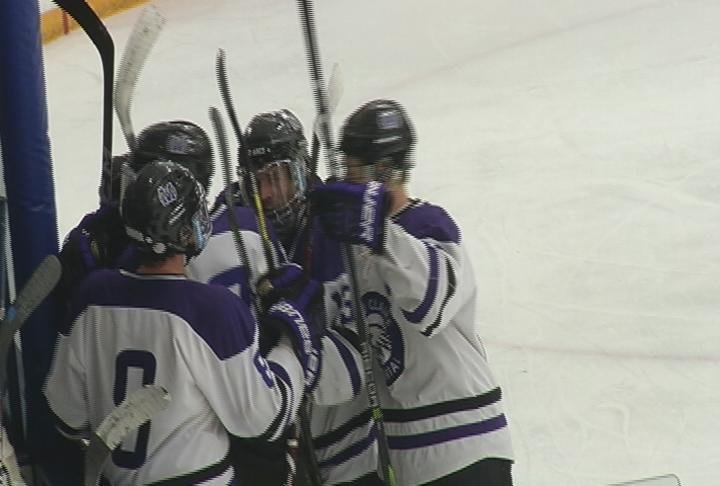 Carter Ottum scores the game-tying goal, as Memorial battles Hudson to a 2-2 tie