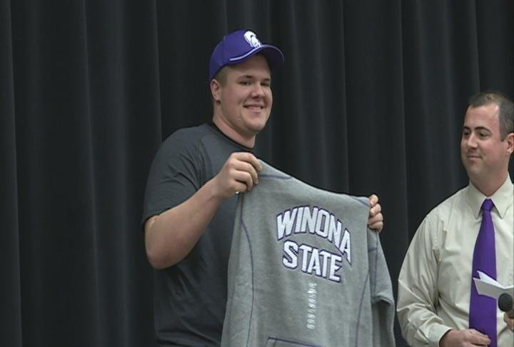 Bloomer's Payton Dachel heads to Winona State