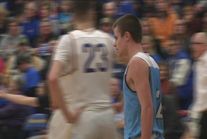 Jack Kron scores late in the first half as North knocks off Rice Lake