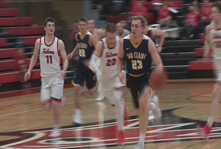 The Blugolds fall on the road to the Falcons