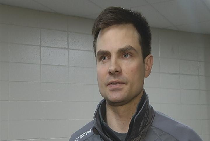 Hudson head coach Brooks Lockwood