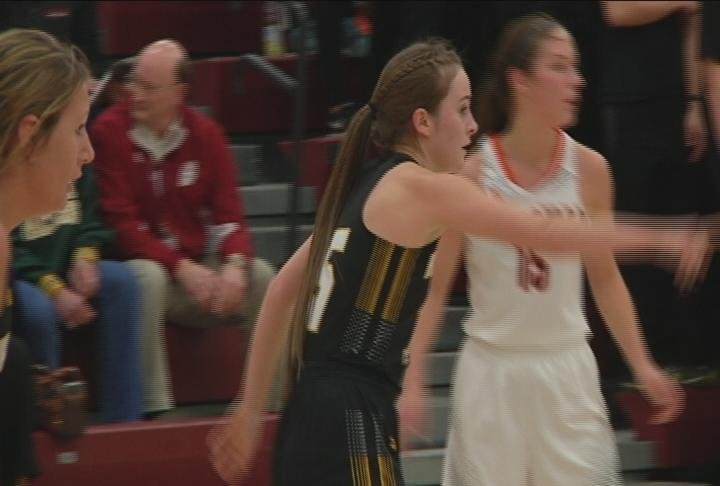 Trinity Myer scores a team high 14 points to lead Hayward past Bloomer