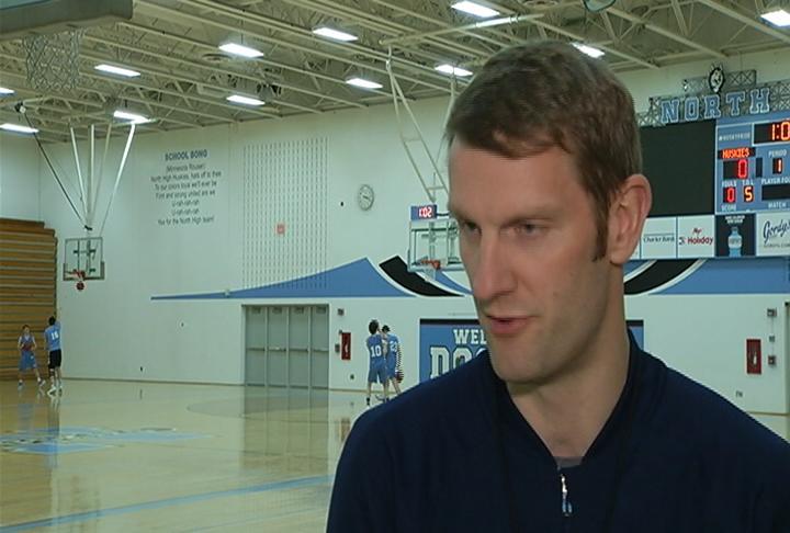 EC North head coach Todd Marks