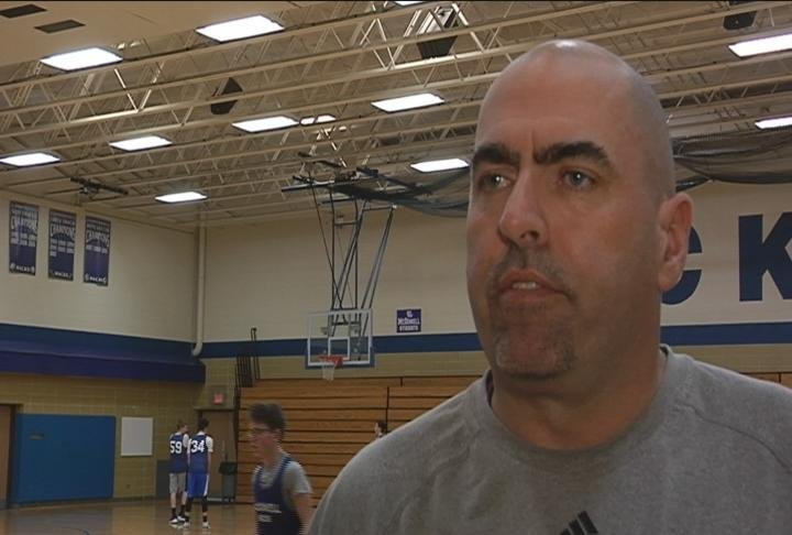 McDonell Central head coach Archie Sherbinow