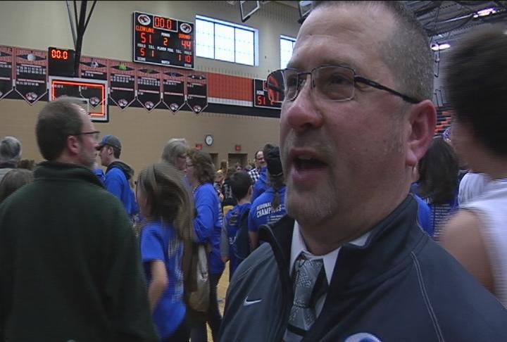 Clear Lake head coach Jason Sargent