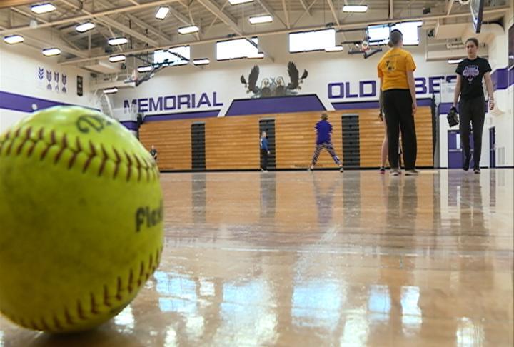 EC Memorial making the most of its indoor practices