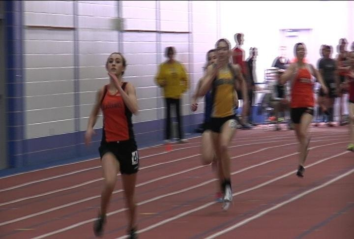 Bloomer's Kendall Zeman pulls away to win the 400m dash