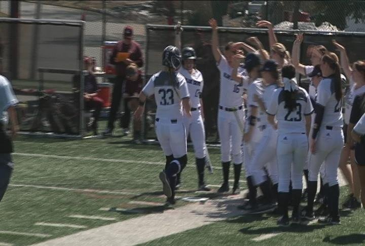 The Blue Devils hit a pair of homeruns in their game 1 win over La Crosse