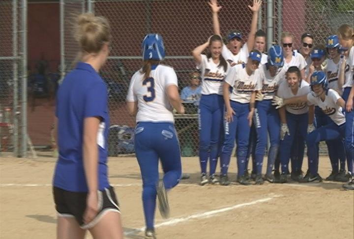 Liz Rietschel homers as McDonell Central rallies past Osseo-Fairchild