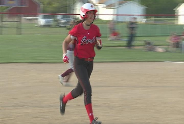Nicole Crumbaker hits a game-winning 3-run HR as Chippewa Falls beats Holmen
