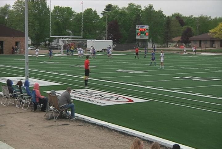 Eau Claire Regis' brand new soccer field and general practice facility