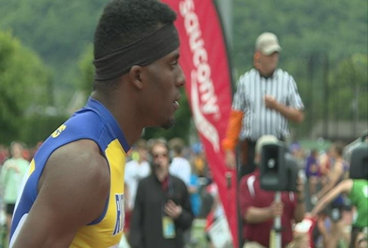Rice L ake's Kenny Bednarek finishes as a 7-time individual state champion