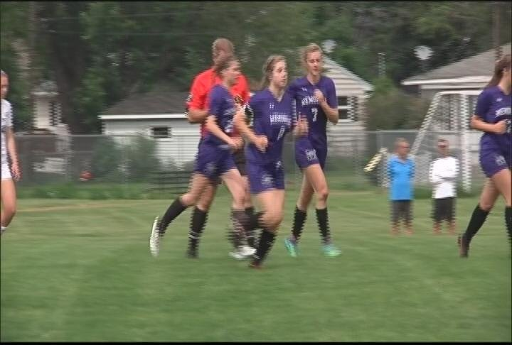 The Old Abes get a brace from Abigail Stow, but fall to Bay Port in the Sectional Final