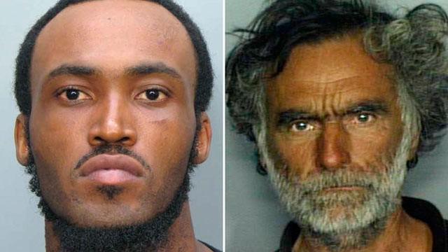 Rudy Eugene, 31, (left) and Ronald Poppo, 65 -- Courtesy Miami-Dade Police Dept./AP Photo