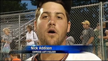 Express outfielder Nick Addison