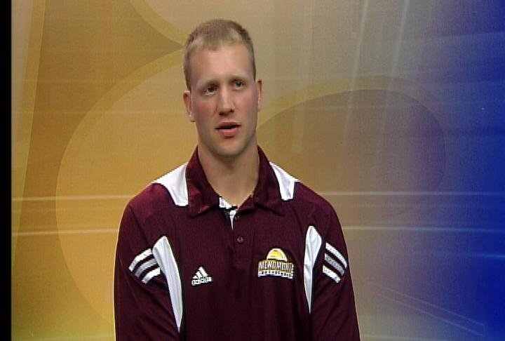 Menomonie boys basketball coach Matt Riley
