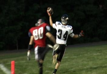 Osseo-Fairchild's Tyler Henke scores on a 72-yard kick return