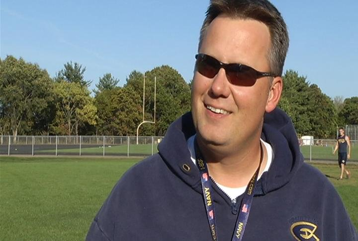 UW-Eau Claire head coach Todd Glaser