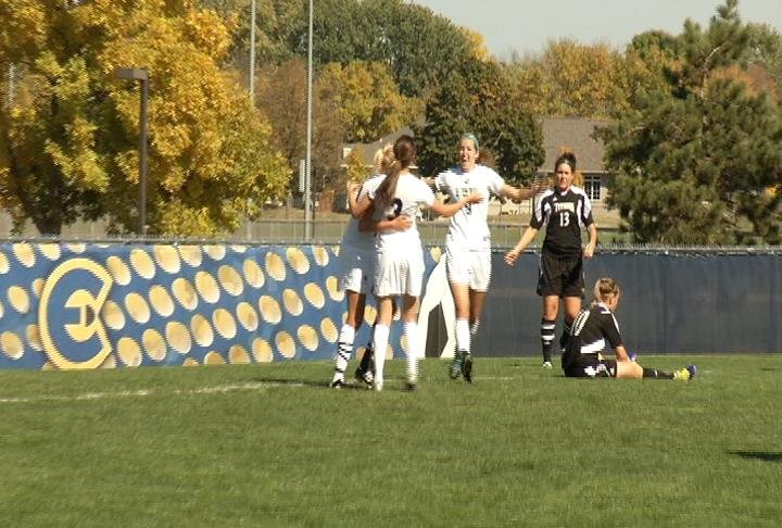 UWEC soccer picks up a 4-2 win