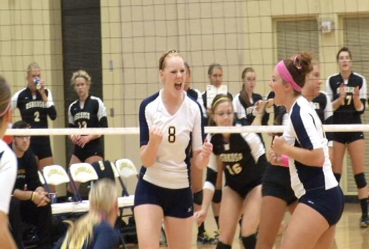UWEC sweeps the Titans at the McPhee Center