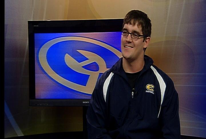 UWEC senior safety Kyle Thorpe