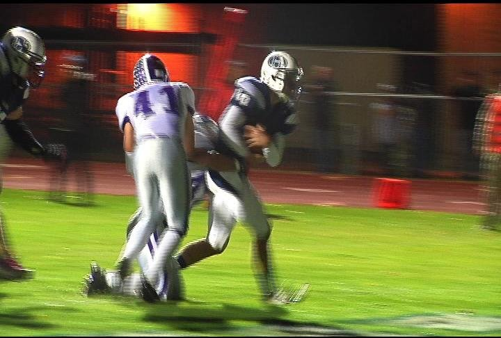 Mike Hommes scores a TD as Hudson blanks EC Memorial