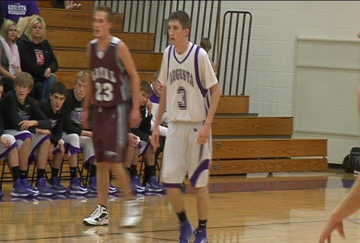 Augusta's Joe Whalen has 37 points as the Beavers beat Loyal