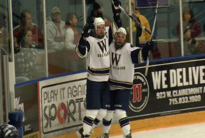 The Blugolds score 12 goals in Saturday's win