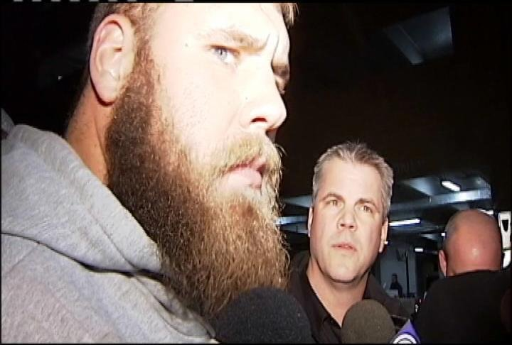 Wisconsin junior offensive lineman Travis Frederick
