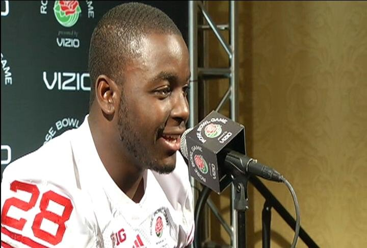 The Rose Bowl will be Montee Ball's last game as a member of the Badgers