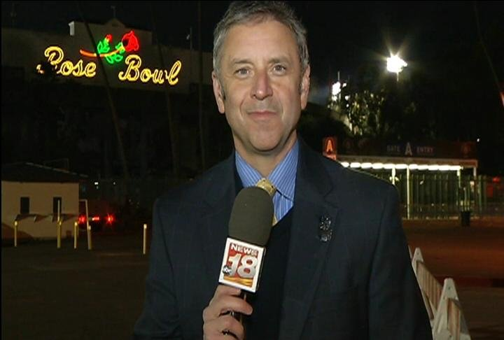 Sports Director Bob Bradovich will have a live report following the Rose Bowl
