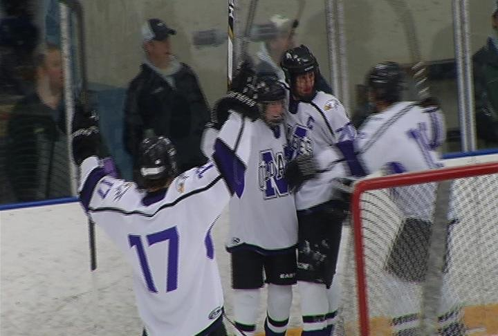Memorial skates past Rice Lake 4-2