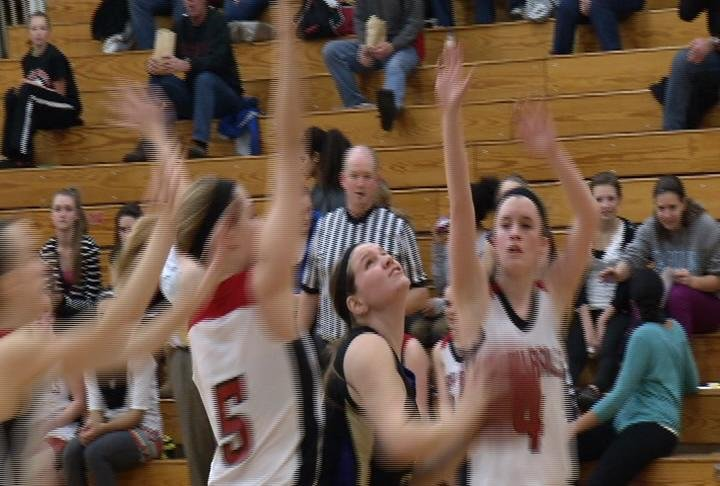 Jade Effertz scores 21 to lead Ladysmith to a NC win