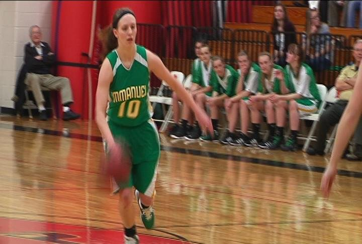 Abbie Hein's 24 points lead Immanuel Lutheran past Elmwood