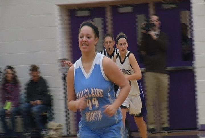 EC  North's Jasmyne Hazelton has 13 points as the Huskies win at EC Memorial