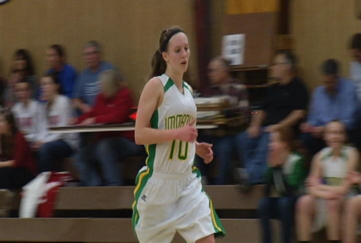 Abbie Hein has 35 points as EC Immanuel Lutheran beats Alma/Pepin