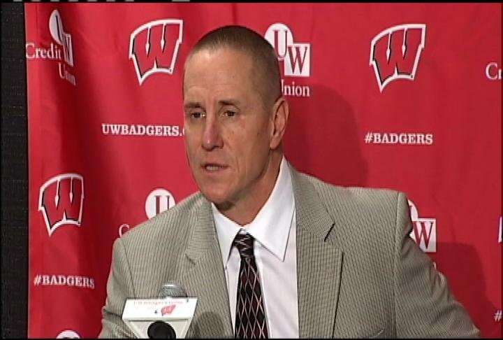 Wisconsin head coach Gary Andersen
