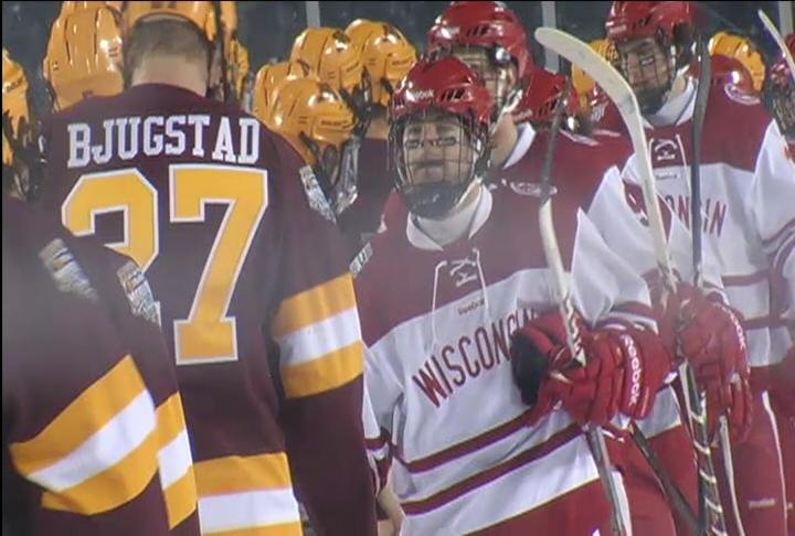 Wisconsin defeats Minnesota 3-2