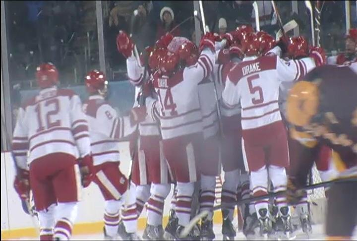 The Badgers are now 3-0 in outdoor games