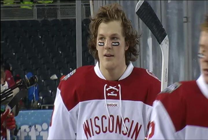 UW defenseman Jake McCabe