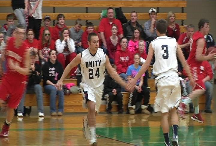 Unity beats Colfax on a buzzer beater