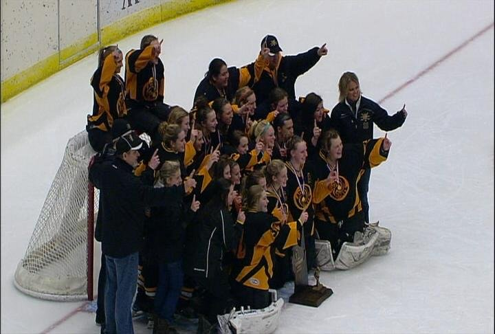 Hayward wins its first-ever state hockey championship