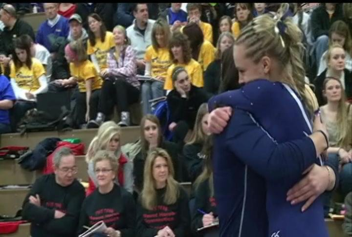 River Falls wins the D2 State Gymnastics Meet