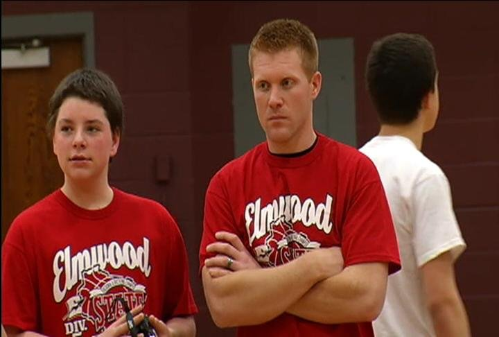 Elmwood head coach Chris Segerstrom
