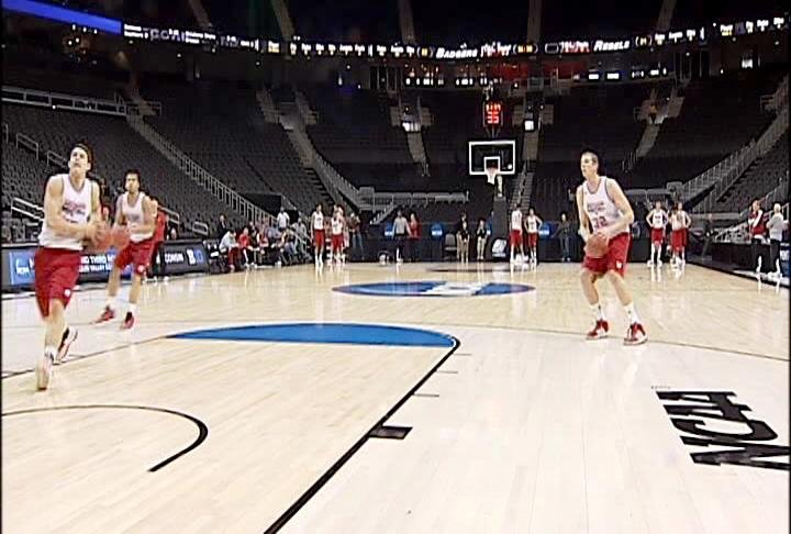 Wisconsin holds practice in Kansas City