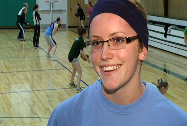 Immanuel Lutheran senior shortstop Sarah Tester