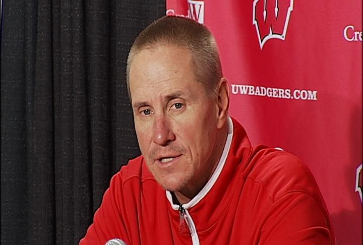 Badgers head coach Gary Andersen