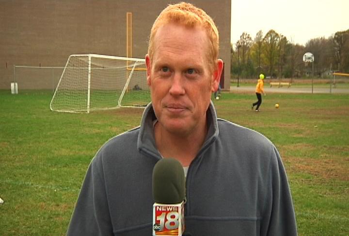 Barron head coach Jeff Rousselow