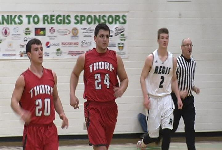 Thorp's fast start helps the Cardinals get a win at EC Regis