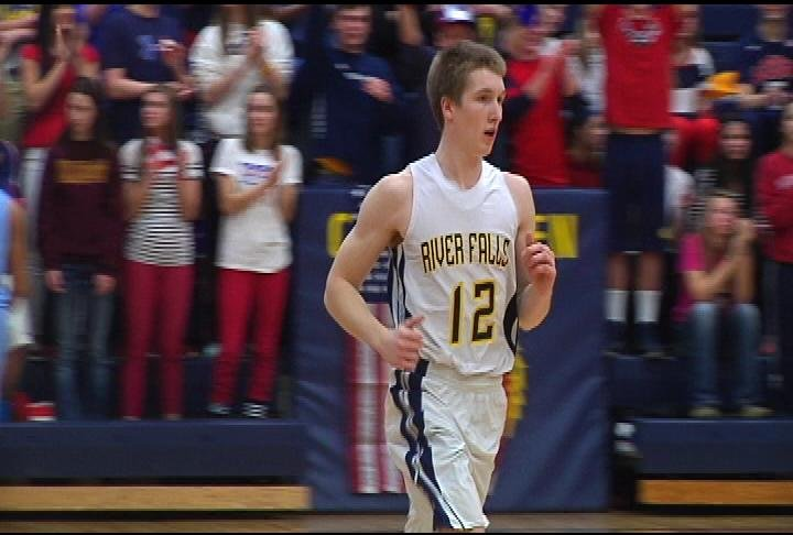 Luke Murphy becomes the all-time leading scorer at River Falls as the Wildcats knock off EC North